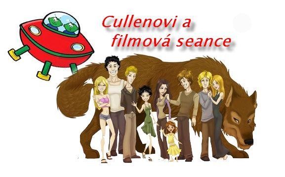 Parodie - Cullenovi a filmová seance