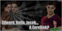Edward, Bella, Jacob... A červíček taky? Nebojte se, jen mi hrabe, nepletou se vám zraky!