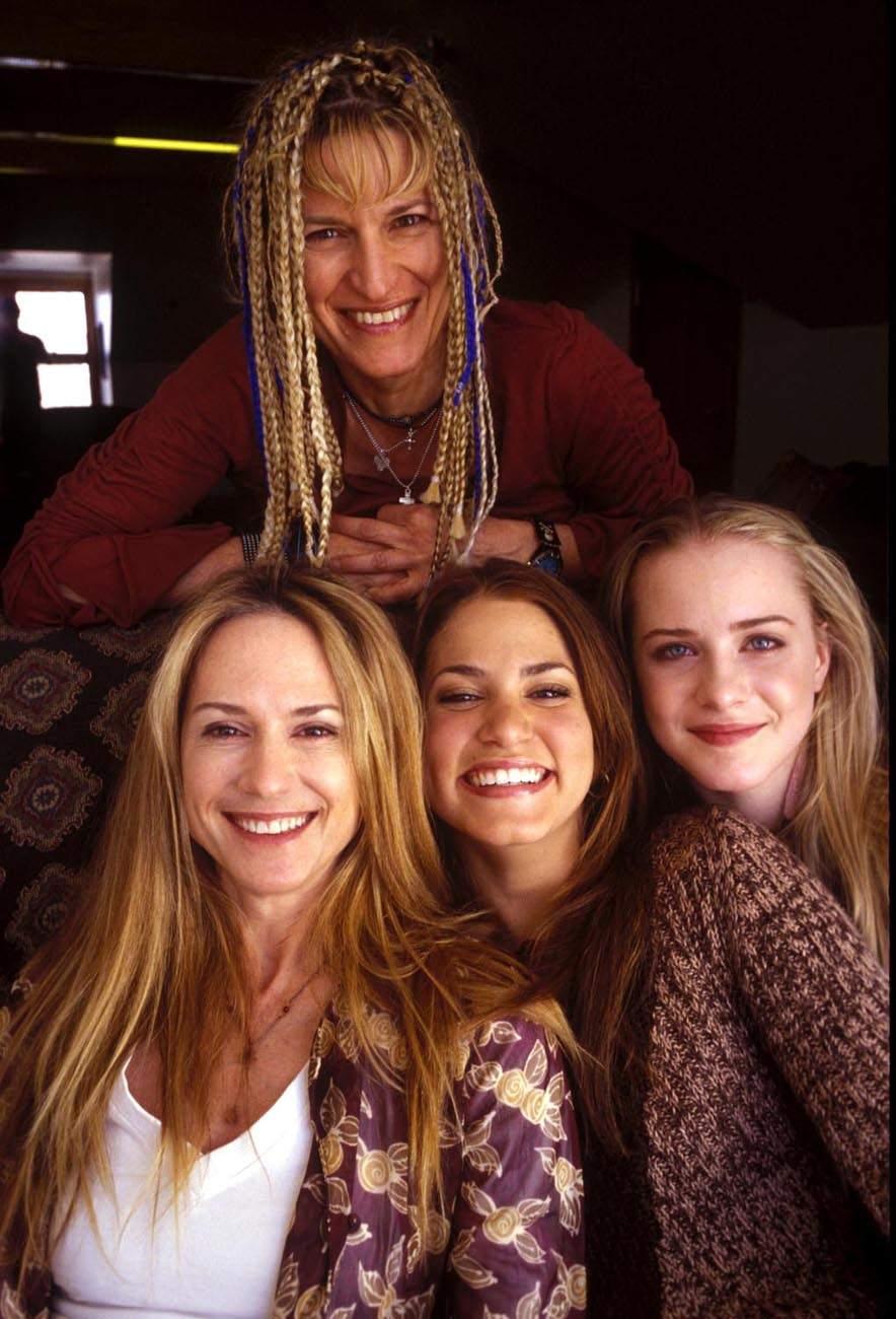 Catherine + hlavní trio z filmu